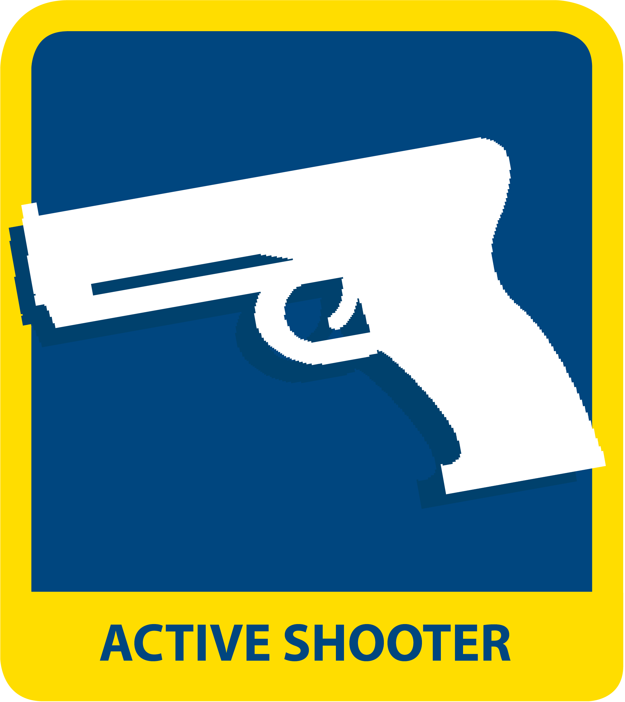 icon reads ACTIVE SHOOTER